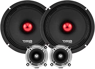 """$146 » DS18 PRO-X8.4BMPK Mid and High Complete Package - Includes 2X Midrange Loudspeaker 8"""" and 2X Aluminum Super Bullet Tweeter..."""