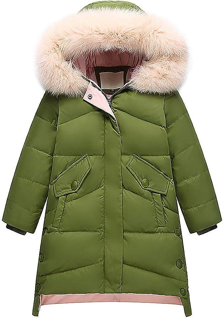 GoldenChuan It is very popular Kids Girls Warm Hoodies Clothes Bargain sale Light Toddler Zip-up