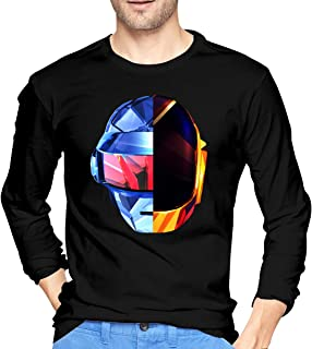 Man Tops Daft Punk Performing Long Sleeve Tshirts