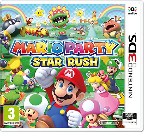 Mario Party Start Rush – 3DS