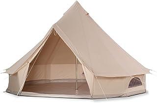 Mysigt hus utomhus vattentät fyra årstider familj camping klocka tält med nätdörr och fönster