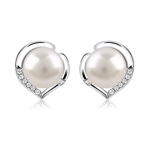 Bella Pearl Freshwater Pearl Stud Earring Set SET-M-2