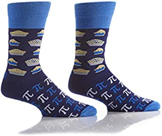 Food Inspired Funky Men's Crew Socks for Dress or Casual Wear Size 7-12