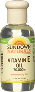 Sundown Naturals Vitamin E Oil 2.50 oz (Packs of 3)