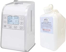超音波噴霧器HM-201適用床面積約26畳用、微酸性次亜塩素酸水「除菌ジアプラス」200ppm 5Lセット ノズル付き