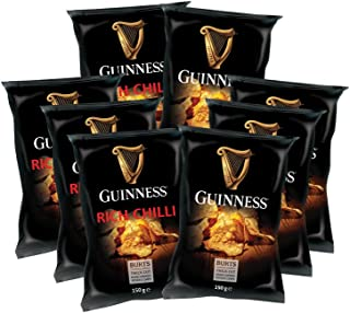 5 x 150g Guinness Chips Mix RICH CHILLI  5 x 150g GUINNESS FLAVOUR