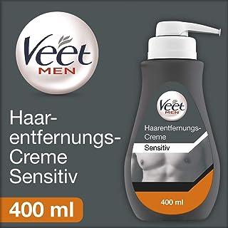 Veet 薇婷 男士脱毛膏 5-10分钟快速有效脱毛 400毫升