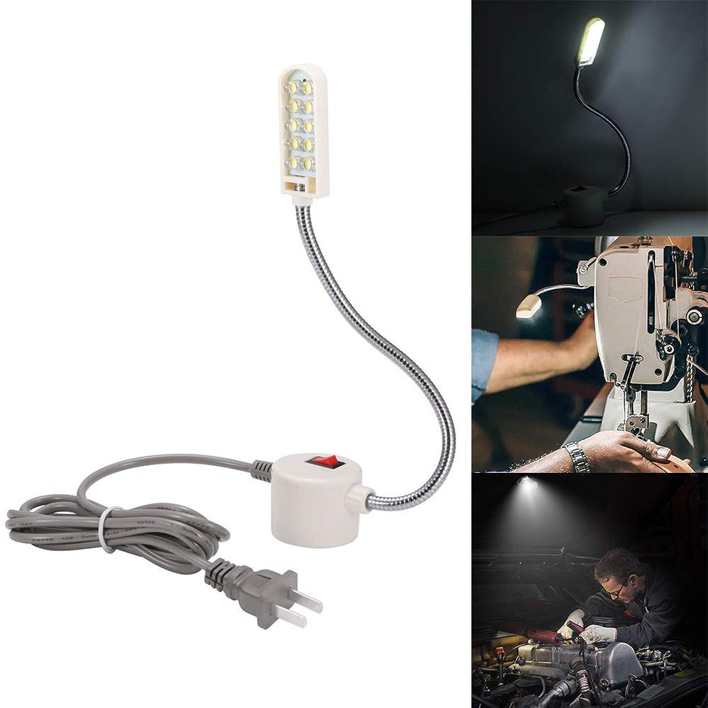 Powstro Sewing Machine Light 10 LED Gooseneck Work Light with Magnetic Mounting Base White Soft Light