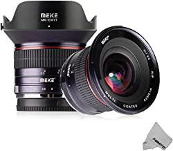 Fomito Meike 12mm F/2.8 Ultra Wide Angle Manual Foucs Prime Lens for Sony Alpha/Nex E Mount APS-C Mirrorless Camera