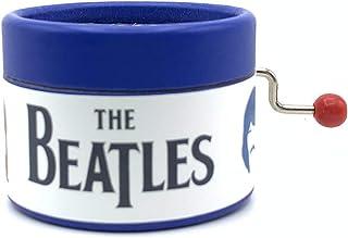 Caja de música azul de los Beatles. Canción Here comes the sun