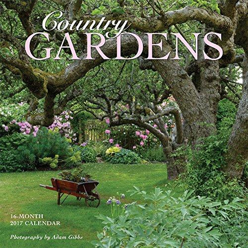 Country Gardens 2017 Square 12x12 Wall Calendar