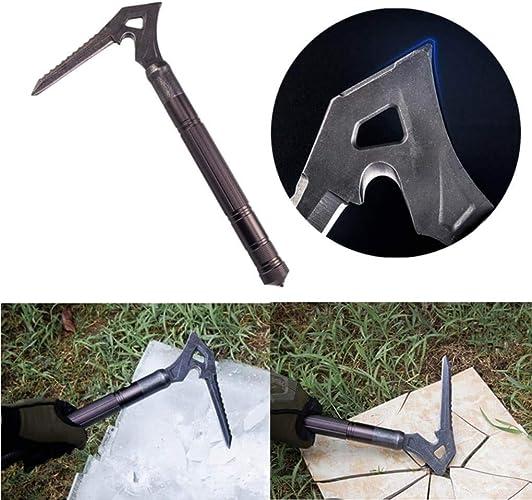 Yongse IPRee T6 en Alliage d'aluminium Pickax Axes à Glace pour l'extérieur Hammer Hammer Sickle
