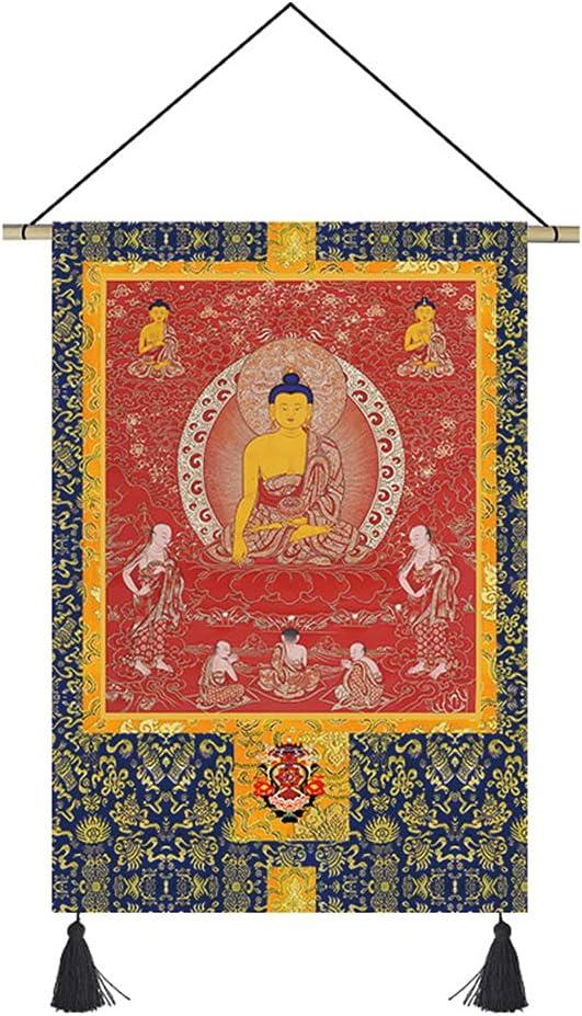 ZDDZ Cotton and Linen Thangka Philadelphia Mall Tibet Super Special SALE held Tapestry Room Living Bedroom