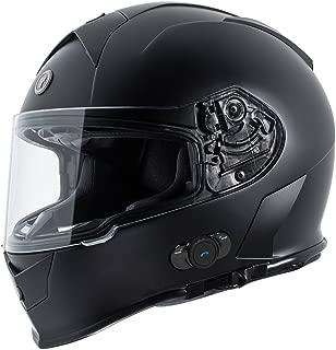 TORC Unisex-Adult Powersport Helmet (Flat Black,  Large)