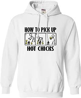 Adult How to Pick Up Hot Chicks Sweatshirt Hoodie