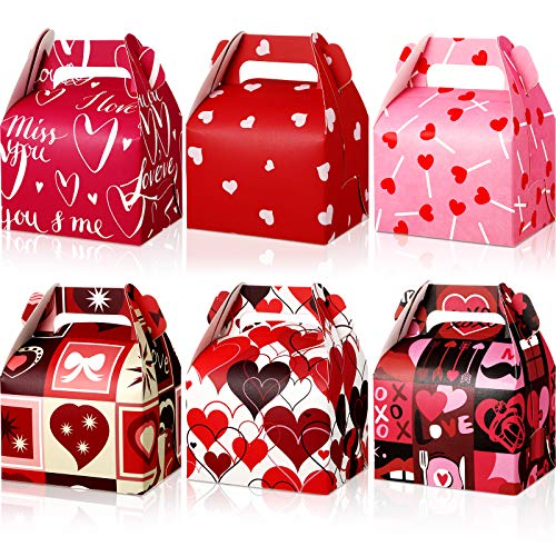 18 Pieces Valentine's Day Treat Boxes