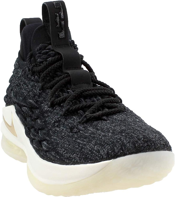Nike Mans Lebron 15 Low Low Low Basketball skor (12, svart  guld)  snabb leverans
