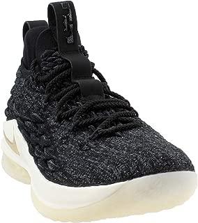 Men's Lebron 15 Low Basketball Shoes (10, Black/Gold)