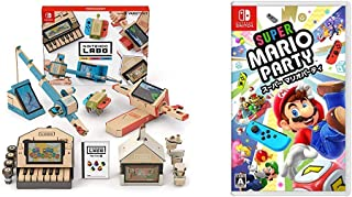 Nintendo Labo (ニンテンドー ラボ) Toy-Con 01: Variety Kit - Switch + スーパー マリオパーティ - Switch セット