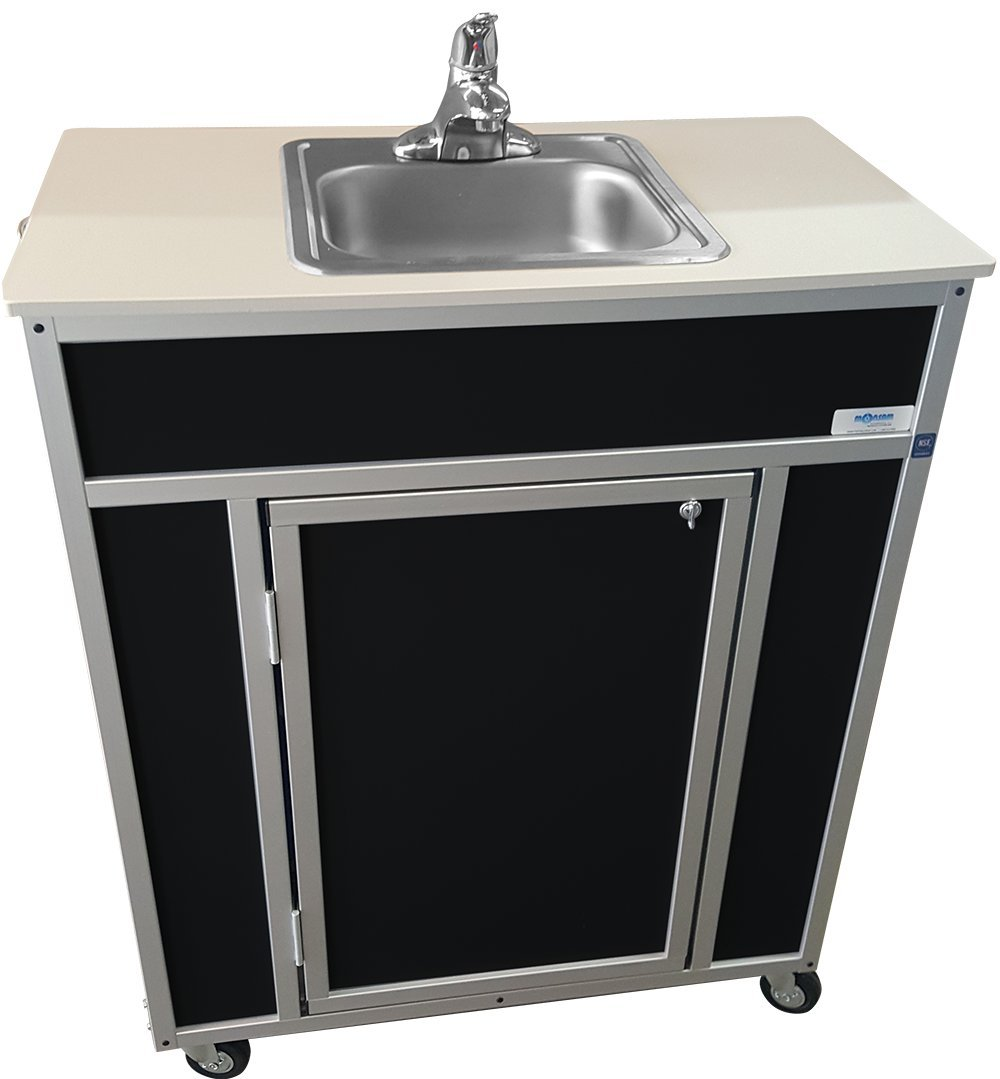 free Sale SALE% OFF Monsam NS-009S NSF Certified Single Portabl Contained Basin Self