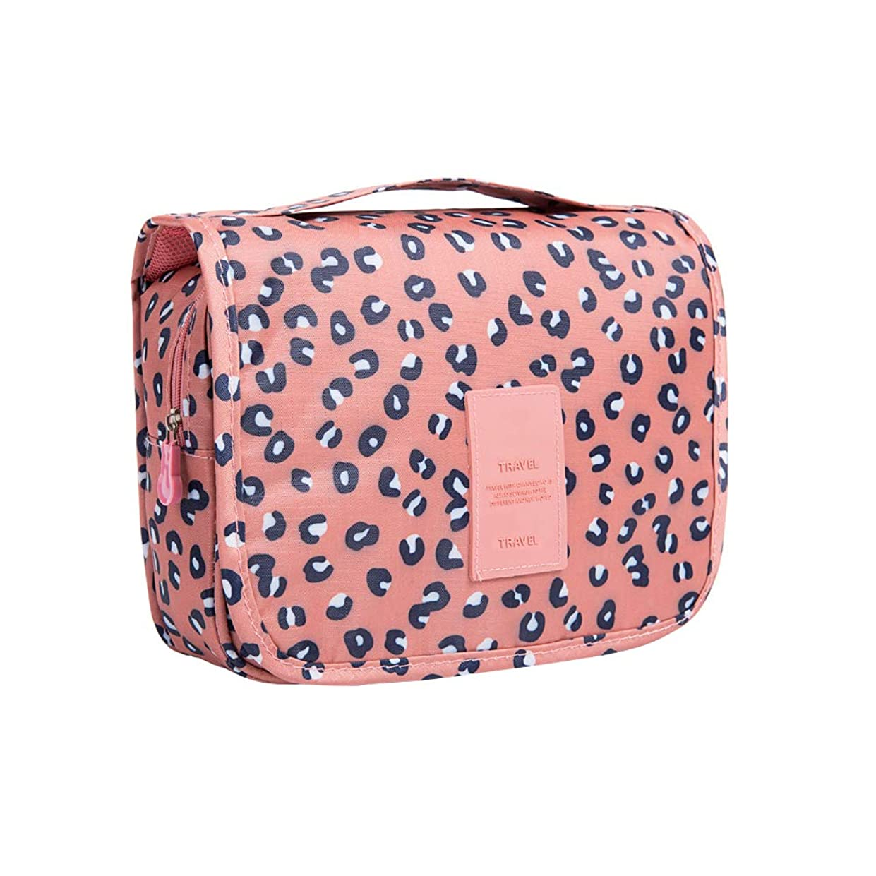 退屈な公八主催者のバッグの女性の女の子のパンサーをぶら下げ多機能ポータブル化粧バッグウォッシュバッグ化粧品袋防水旅