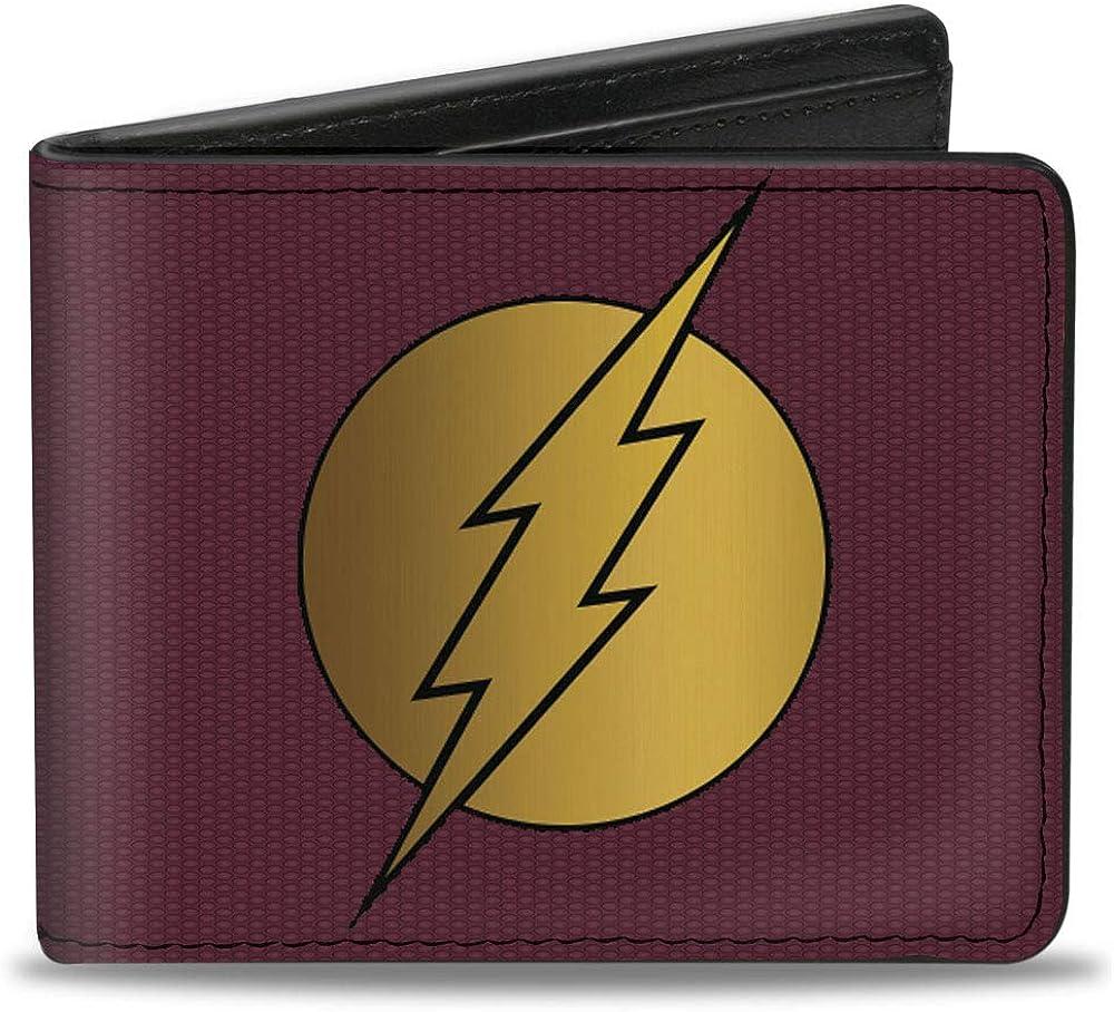 Buckle-Down Men's Standard Gifts Bifold Wallet Flash x 3.5