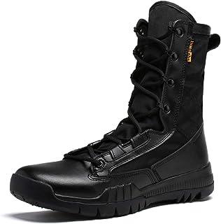 comprar comparacion SINOES Botas Servicio Militar Calzado Trabajo Zapatos Hombre - Botines Desert Militares Ejército Táctico Al Aire Libre Dep...