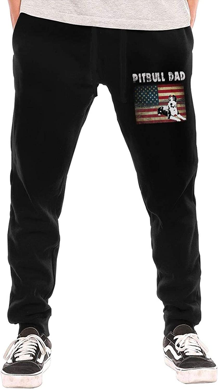 N A Best Pitbull Sales Louisville-Jefferson County Mall of SALE items from new works Dad Ever Flag Men's Sweatpant American Jogger