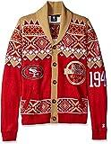 San Francisco 49ers 2015 Ugly Cardigan Medium