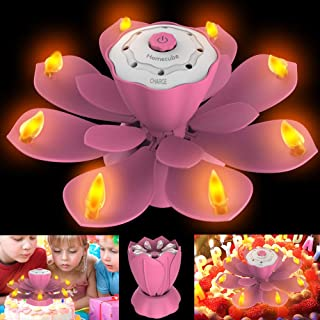 Best rotating birthday candle Reviews