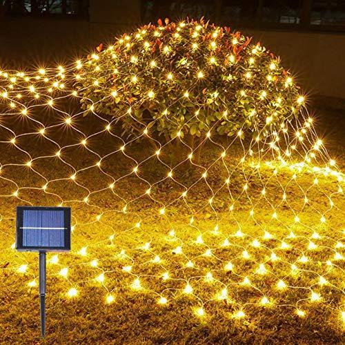 9.8ft X 6.6ft 192LED Solar Net Lights