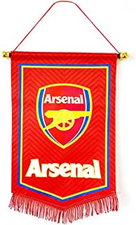 GLUUGES The FC Football Club Hanging Flag for Indoor or Outdoor by Arsenal Fan