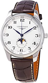 The LONGINES Master 42MM Collection Silver DIAL MOONPHASE Automatic