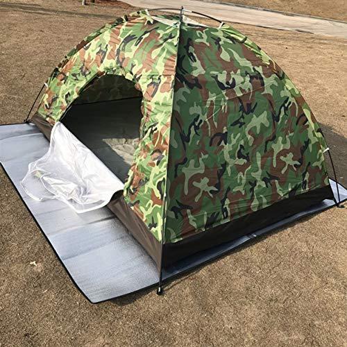 Tree-on-Life Ultra Light 2 Personen Wasserdichte Camping Camouflage Zelt Einzelschicht mit Runde Tür für Outdoor Camping Tourismus Zelt
