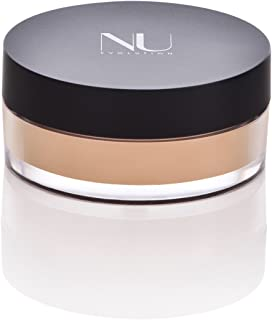 NU EVOLUTION Loose Powder Foundation Made with Natural Ingredients - No Parabens, Talc, Gluten 302