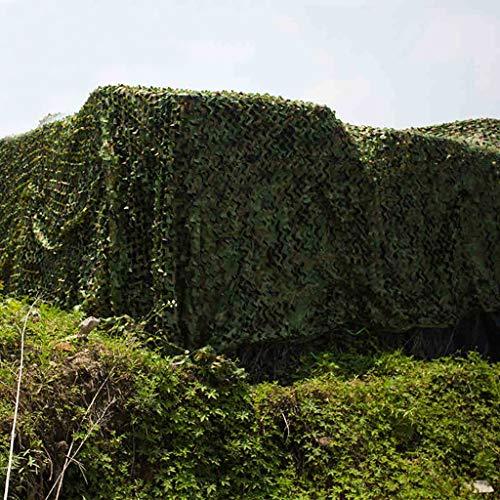ALLIWEI Grünes Tarnnetz Desert Ash Marineblau Oxford-Netzgewebe Verstecktes Zelt Sonnenschutz Sonnenschutz Military Woodland Tarnnetz 3x10m, 4x10m, 5x10m, 6x10m, 7x10m, 8x10m, 9x10m, 10x20m