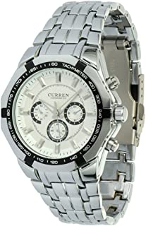 CURREN New Quartz Hours Stainless Steel Water Resistant Men Analog