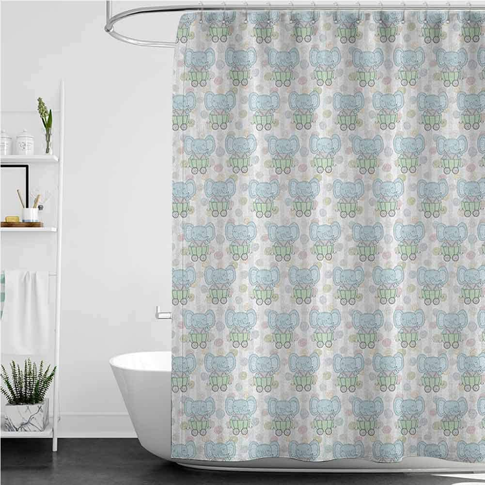 Shower 2021new shipping free Curtains for Kids Unisex Cute s Style Trailers Cartoon Topics on TV in