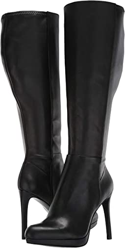 92d15c149d7 Nine West. Fallon Tall Dress Boot.  70.99MSRP   159.00. Black Leather
