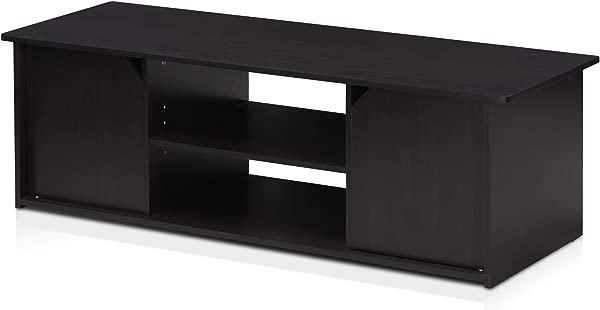 Furinno 17044EX Econ Home Entertainment Stand For TV Up To 55 Espresso