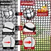 WhiteFang Golf Net Bundle Golf Practice Net 10x7 feet with Golf Chipping Nets Golf Hitting Mat &Golf Balls Packed in Carry Bag for Backyard Driving Indoor Outdoor (Golf Net 3-in-1) #3