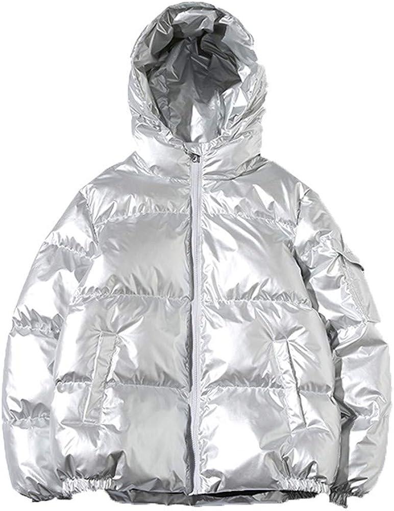 MODOQO Men's Winter Warm Thick Coat Hoodies Zipper Jacket Windproof Outdoor