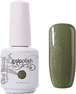 Clou Beaute Gelpolish 15ml Soak Off UV Led Gel Polish Lacquer Nail Art Manicure Varnish Color Crocodile 1025