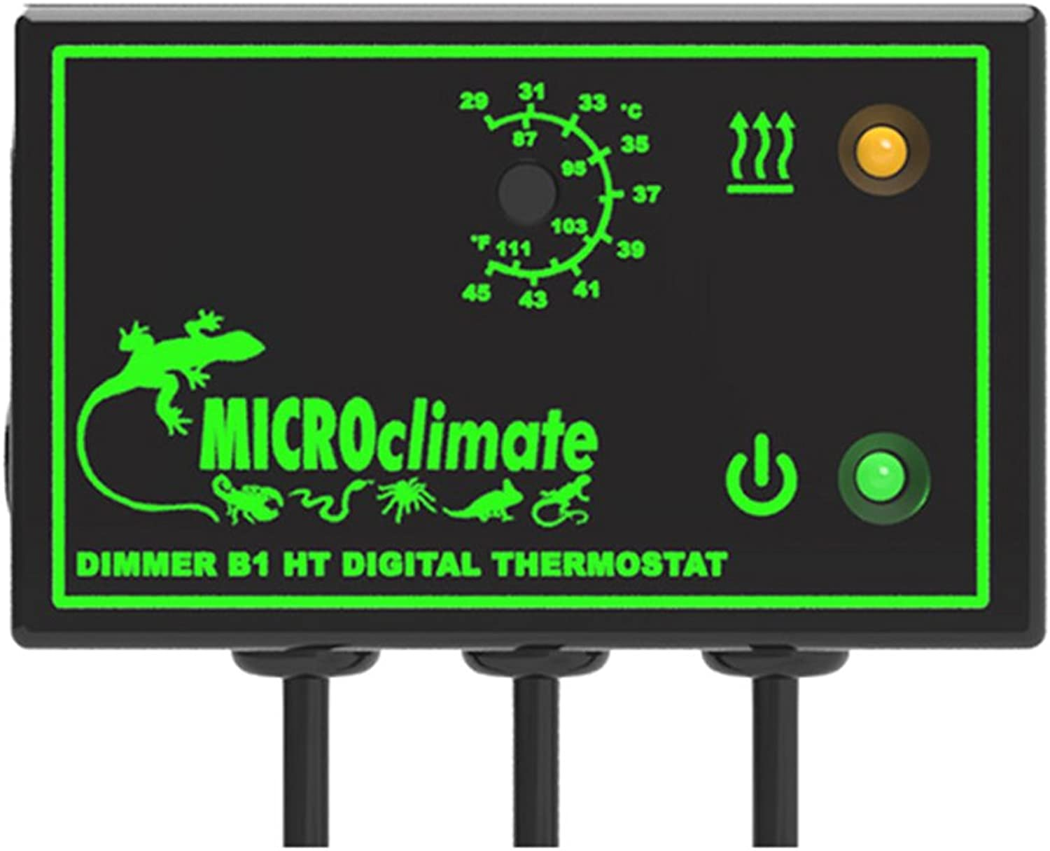 Microclimate B1 HT Dimmer Thermostat Black 600W