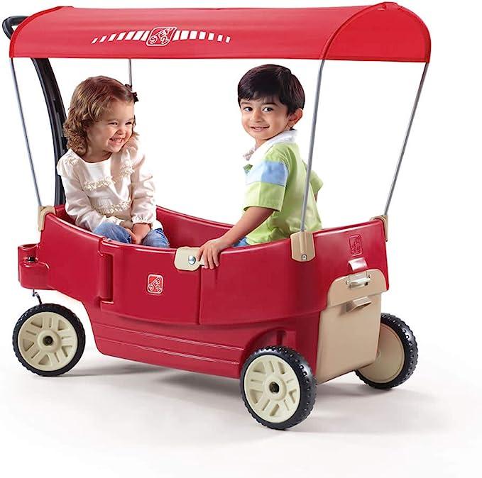 Step2 All Around Canopy Wagon - All-terrain Folding Wagon