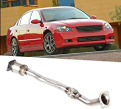 Qiilu 54360 Rear Car Catalytic Converter Replacement Fit for Nissan Altima 2.5L Engine 2002-2006