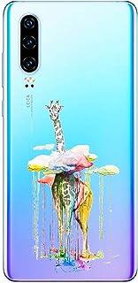 Suhctup Compatible con Huawei Mate 10 Pro Funda de TPU Silicona con Dibujos Lindo Animados Diseño Cárcasa Slim Transparent...