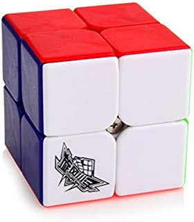 Cyclone Boys Speed cube 2x2x2 Magic Puzzle Cube (50mm) Colorful