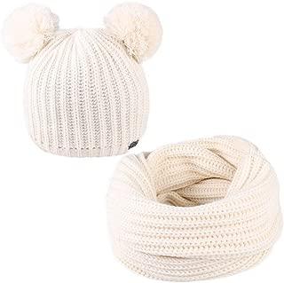 FURTALK Kids Winter Hat Pom Beanie Knit Skull Cap Hats Children Baby Boys Girls Toddler 1-6 Years