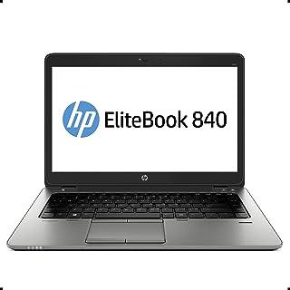 HP EliteBook 840 G2 14インチノートパソコン、Core i5-5300U 2.3GHz、16GB ラム、256GB SSD、Windows 10 Pro 64ビット、ウェブカメラ(更新済み)